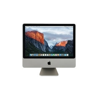 Apple MC015LL/A iMac 20-inch Core 2 Duo 4GB RAM 160GB HDD El Capitan- Refurbished