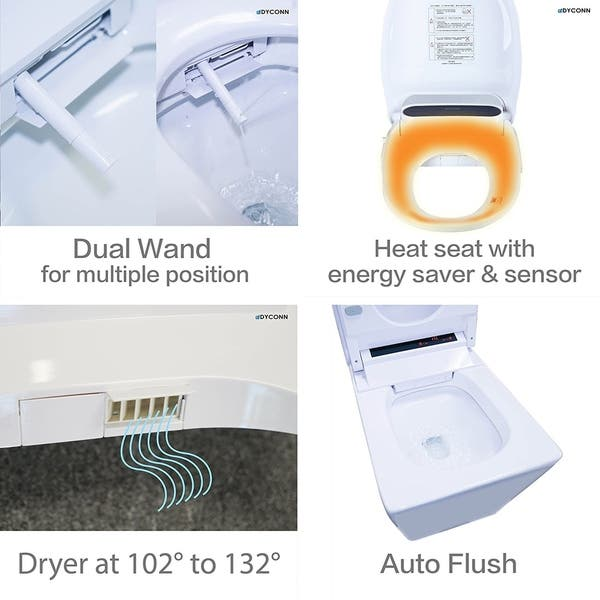 Astounding Shop Dyconn Faucet Aqua Tankless All In One Combo Bidet Gmtry Best Dining Table And Chair Ideas Images Gmtryco