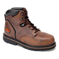 Men's Timberland PRO Pit Boss 6in Steel Toe Boot Gaucho Oiled Full Grain