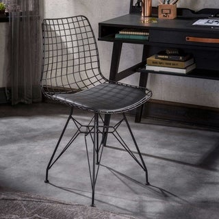 Dark Metal Chair