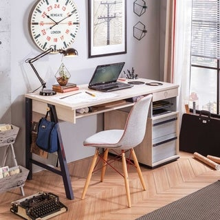 Cilek Trio Grey Finish Particle Board Large Desk