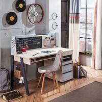Cilek Trio Wide Smart Desk with Hutch