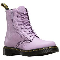 Dr. Martens Pascal 8-Eye Boot Orchid Purple Aunt Sally Tumbled Leather/Zip