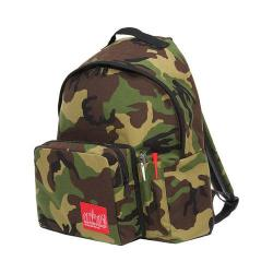 Manhattan Portage Big Apple Backpack With Pen Holder (Medium) Camo