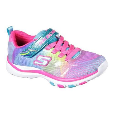 Girls' Skechers Trainer Lite Dash N Dazzle Sneaker Multi