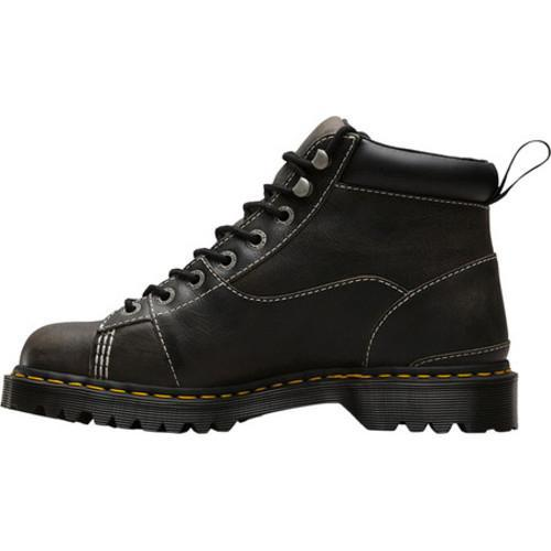 Men's Dr. Martens Alderton Padded Collar Ankle Boot Black Greenland Waxy  Two Tone Leather - Free Shipping Today - Overstock.com - 23608535