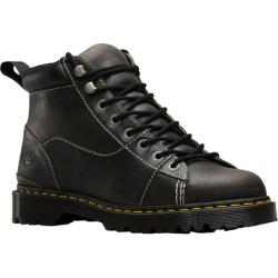 Men's Dr. Martens Alderton Padded Collar Ankle Boot Black Greenland Waxy Two Tone Leather