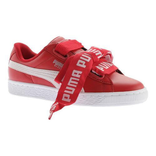 puma basket heart de athletic shoe