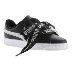 Women's PUMA Basket Heart DE Sneaker PUMA Black/PUMA White