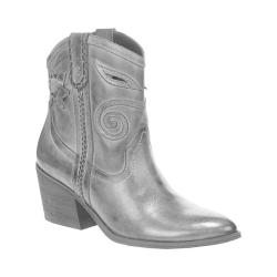 Women's Carlos by Carlos Santana Austin Bootie Grey Leather