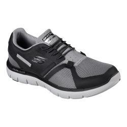Men's Skechers Flex Advantage 2.0 Cauther Training Sneaker Gray/Black