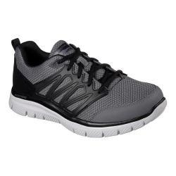 Men's Skechers Flex Advantage Sheaks Training Sneaker Gray/Black