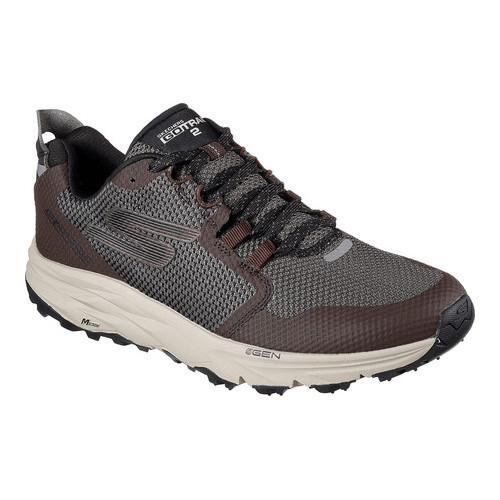 c62089cc2d85 Shop Men s Skechers GOtrail 2 Running Shoe Chocolate - Free Shipping Today  - Overstock - 17382410
