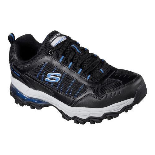 Men's Skechers After Burn M Fit Air Training Sneaker Black/Royal