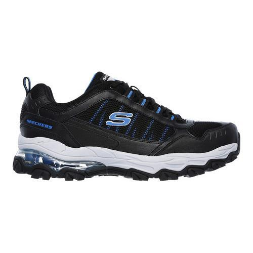 Men's Skechers After Burn M Fit Air Training Sneaker Black/Royal - Thumbnail 1