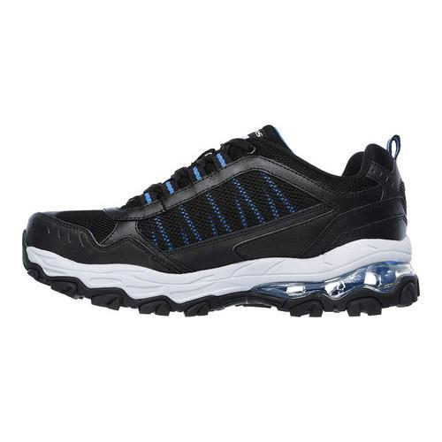 Men's Skechers After Burn M Fit Air Training Sneaker Black/Royal - Thumbnail 2