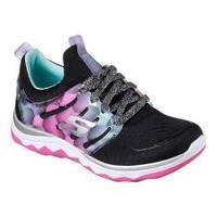 Girls' Skechers Diamond Runner Sneaker Black/Multi