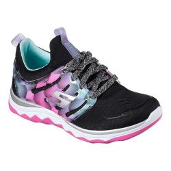Girls' Skechers Diamond Runner Sneaker Black/Multi