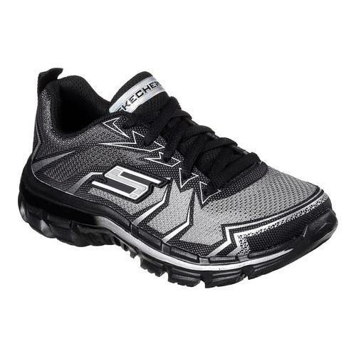 Boys' Skechers Nitrate Sneaker Gray/Charcoal