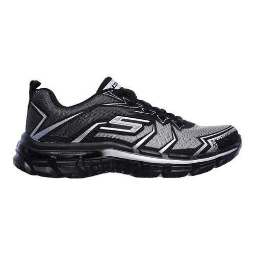 Boys' Skechers Nitrate Sneaker Gray/Charcoal - Thumbnail 1