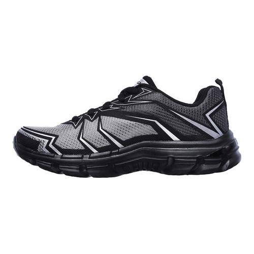 Boys' Skechers Nitrate Sneaker Gray/Charcoal - Thumbnail 2