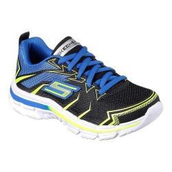 Boys' Skechers Nitrate Sneaker Black/Blue