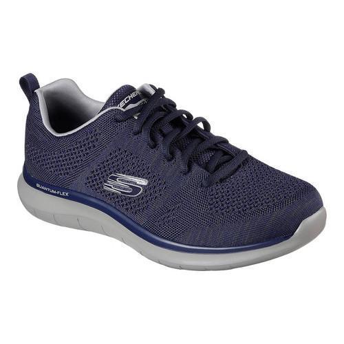 9dd57c6ea906 Shop Men s Skechers Relaxed Fit Quantum Flex Smyzer Sneaker Navy ...