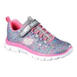 Girls' Skechers Skech Appeal Star Spirit Sneaker Gray/Multi