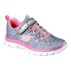 Girls' Skechers Skech Appeal Star Spirit Sneaker Gray/Multi