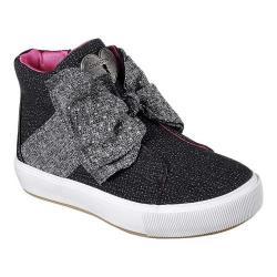 Girls' Skechers Street Chic High Top Black/Gray