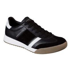 Men's Skechers Zinger Scobie Sneaker Black/White