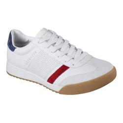 ojo aceptable confiar  Men's Skechers Zinger Sneaker White/Navy - Overstock - 17382564