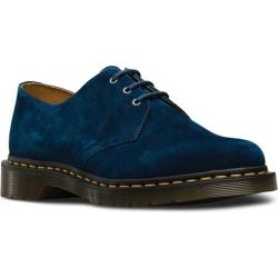 Dr. Martens 1461 3-Eye Shoe Indigo Soft Buck Nubuck Leather