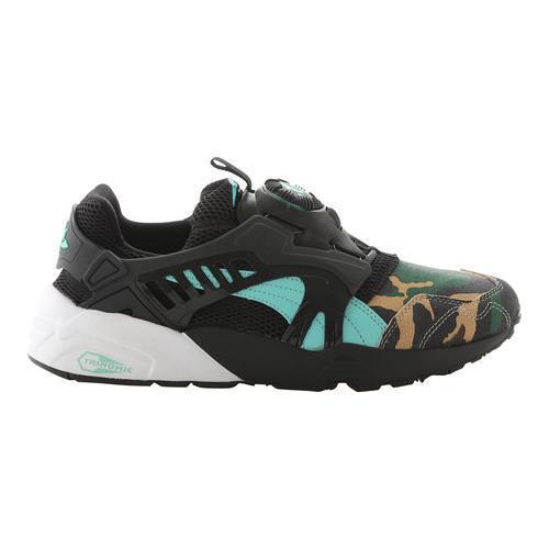 b513e950df60 Shop Men s PUMA Atmos X Puma Disc Blaze Night Jungle Sneaker Black Electric  Green - Free Shipping On Orders Over  45 - Overstock.com - 17407885