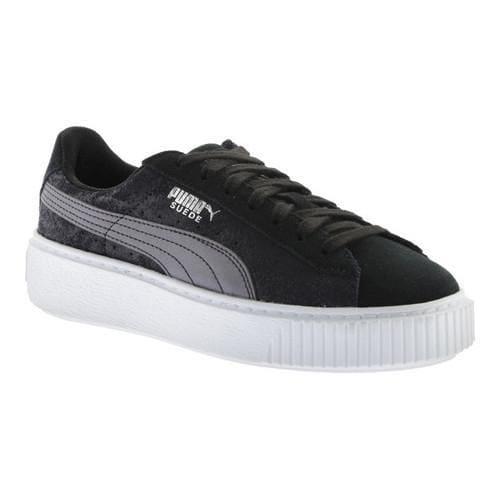 Women's PUMA Suede Platform Safari Sneaker PUMA BlackPUMA Black