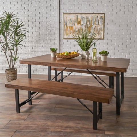 Blaise Farmhouse 3-piece Cottage Dining Set by Christopher Knight Home