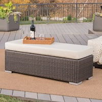 Buy Wicker Outdoor Benches Online At Overstock Our Best Patio Furniture Deals