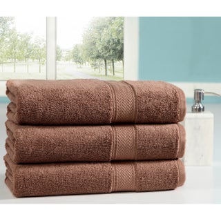 Casa Platino 100 Percent Combed Cotton Oversized Bath Sheets 3 Pack (More options available)