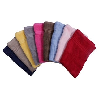Just Linen Luxury Wash Towels 100 Cotton Soft & Elegant, Value pack of 10