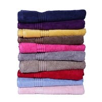 Just Linen Luxury Towel Set 100 % Cotton, Soft & Elegant, Set of 4
