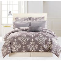 Duck River Alisa Quilted Oversize/Overfilled 10 Piece Comforter Set