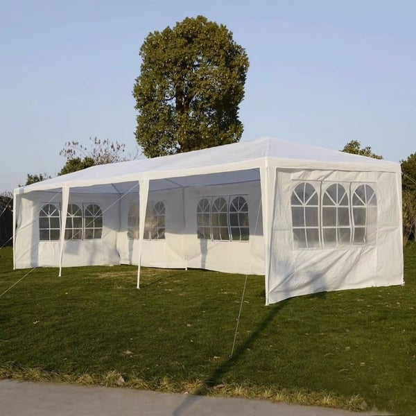 10u0026#x27;x30u0026#x27; Party Wedding Outdoor Patio Tent Canopy Gazebo Pavilion : screened in tent canopy - memphite.com