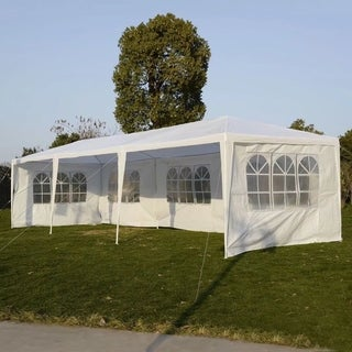 10'x30' Party Wedding Outdoor Patio Tent Canopy Gazebo Pavilion Event