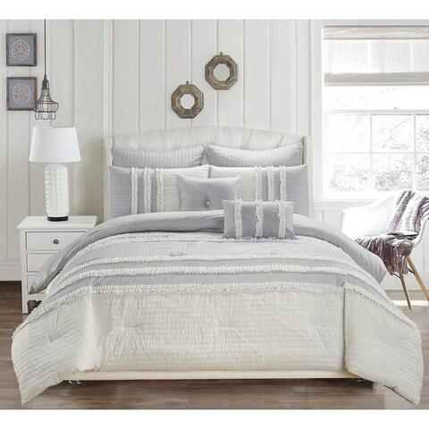 Kensie Chartreux 8 Piece Comforter Set