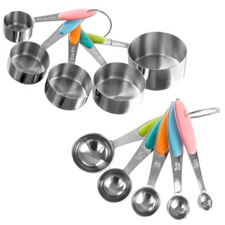 Classic Cuisine Measuring Cups and Spoons Set