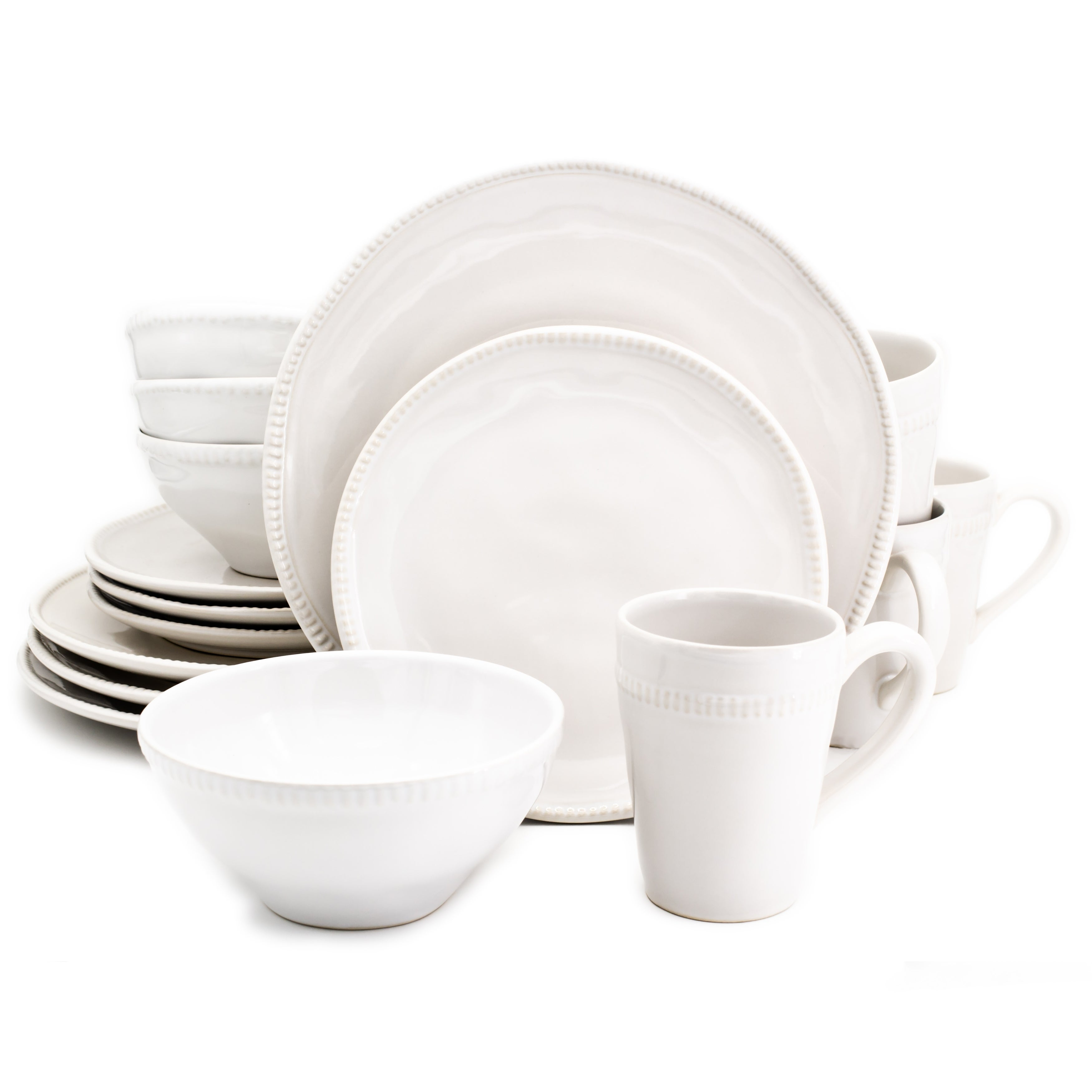 Help  sc 1 st  eBay & Euro Ceramica Algarve 16 Piece Dinnerware Set in Red | eBay