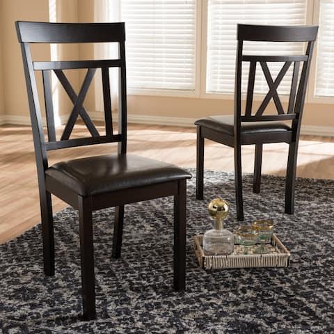 Copper Grove Echium Contemporary Dining Chair Set