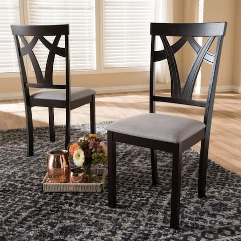 Copper Grove Cyril Contemporary Fabric Dining Chair Set