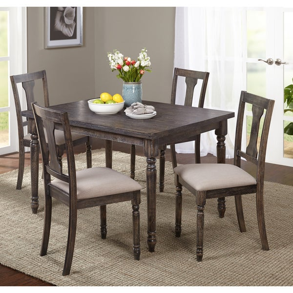 5 Piece Dining Room Sets Amazon Com: Shop Simple Living French Country 5-Piece Dining Set