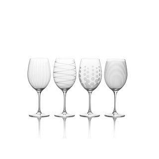 Mikasa Cheers 24oz Bordeaux Wine Glasses Set of 4